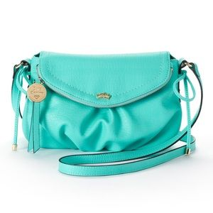 ✔️Excellent ⭐️ Roomy Soft Teal Juicy Couture Purse
